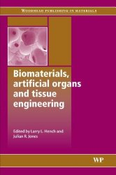 Book Cover: Biomaterials, artificial organs and tissue engineering