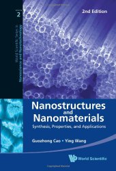 Book Cover: Nanostructures and Nanomaterials: Synthesis, Properties, and Applications